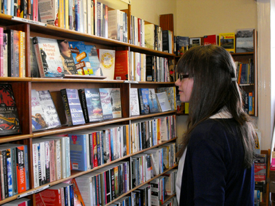 Welcome to Seaways independent bookshop in Fishguard, Pembrokeshire